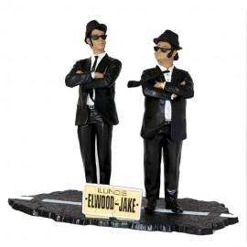 Figurine The Blues Brothers - Jake & Elwood Blues 17cm