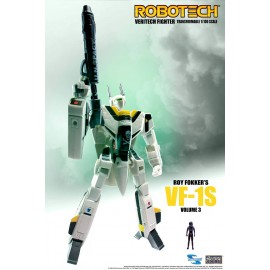 Figurine Robotech - Veritech Fighter Roy Fokker VF-1S 15 cm
