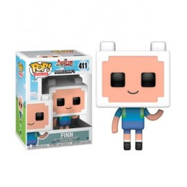 Figurine Adventure Time/Minecraft S1 - Finn Pop 10cm