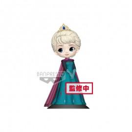 Figurine Q Posket Disney - Frozen - Elsa Coronation Style Pastel Ver B 14cm