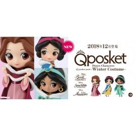 "Figurine Q Posket ""PETIT"" Disney - Jasmine Winter Costume 7cm"