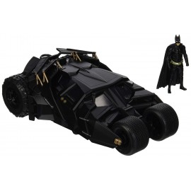 Figurine Batman The Dark Knight - Batmobile 2008 métal 1/24 avec figurine