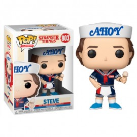 Figurine Stranger Things S3 - Steve with Hat and Ice Cream Pop 10 cm