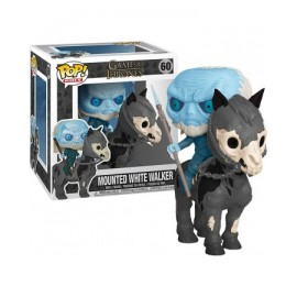 Figurine Game of Thrones - Mounted White Walker Pop Rides 15cm