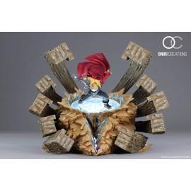 Statue FMA - Edward Elric - A fierce counter attack - Oniri Créations