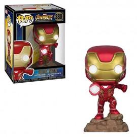 Marvel - Avengers Infinity War - Iron man Lights up - Pop 10 cm