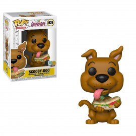Figurine Scooby-Doo 50 Years - Scooby-Doo with Sandwich Pop 10cm