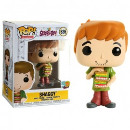 Figurine Scooby-Doo 50 Years - Shaggy with Sandwich Pop 10cm