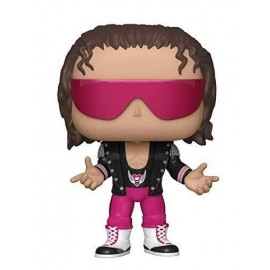 Figurine WWE - Bret Hart with Jacket - Pop 10 cm