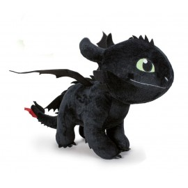 Peluche Dragons 3 : Le Monde caché - Toothless/Krokmou (Night Fury) 60 cm