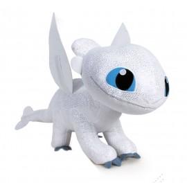 Peluche Dragons 3 : Le Monde caché - Light Fury 60 cm