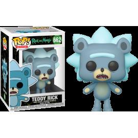 Figurine Rick & Morty - Teddy Rick Pop 10cm