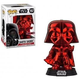 Figurine - Star Wars - Darth Vader Red Chrome Exclusive Pop 10cm