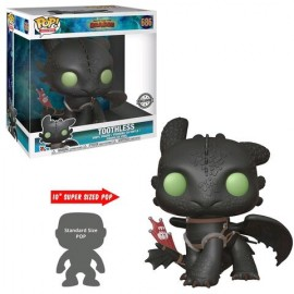 Figurine How to Train your Dragon 3 - Toothless Supersized 26cm Pop