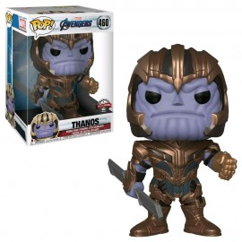 Figurine Marvel - Avengers Endgame - Thanos Supersize Pop 26 cm