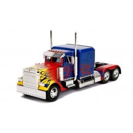 Figurine Transformers - Réplique Optimus Prime T1 1/24 métal