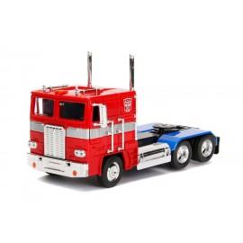 Figurine Transformers - Réplique Optimus Prime G1 1/24 métal