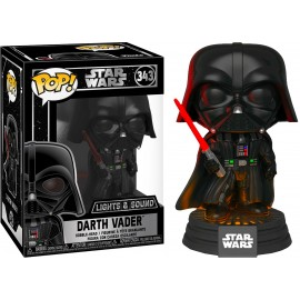 Figurine Star Wars - Darth Vader Lights and Sound Pop 10cm