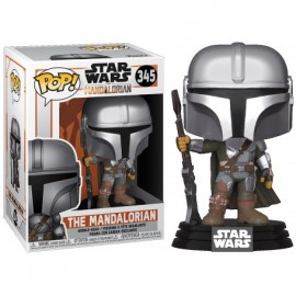 Figurine Star Wars - The Mandalorian - The Mandalorian Pop 10cm