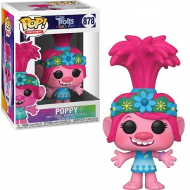 Figurine Trolls World Tour - Poppy Pop 10cm
