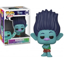 Figurine Trolls World Tour - Branch Pop 10cm