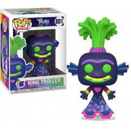 Figurine Trolls World Tour - King Trollex Pop 10cm