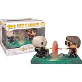 Figurine Harry Potter - Movie Moment Harry vs Voldemort Pop 10cm