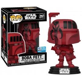 Figurine Star Wars - Boba Fett (Red Futura) WonderCon 2020 Limited Edition Pop 10cm