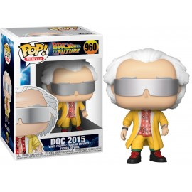 Figurine Retour vers le Futur - Doc 2015 Pop 10cm