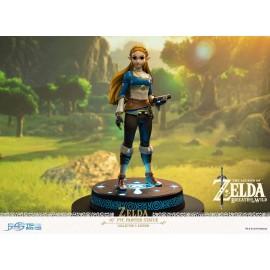 """Figurine """"ZELDA"""" """"COLLECTOR LIGHT UP"""" The Legend of Zelda Breath of The Wild 27cm"""