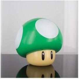 Lampe Nintento - 1UP Mushroom vert