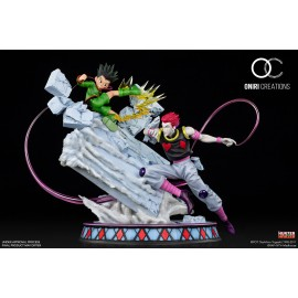 Précommande Statue Hunter X Hunter - Gon Vs Hisoka Battle at the Heavens Arena Oniri Creations