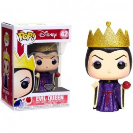 Figurine Disney Blanche Neige - Evil Queen Diamond Collection Special Edition Pop 10cm