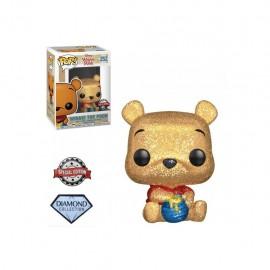 Figurine Disney - Winnie The Pooh - Seated Winnie the Pooh Diamond Special Edition Pop 10cm
