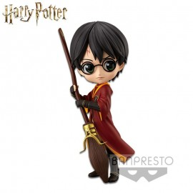 Figurine Q Posket Harry Potter - Harry Potter Quidditch Style Ver A 14cm