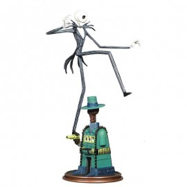 Figurine Nightmare Before Christmas - Oogie's Lair Jack Gallery 35cm