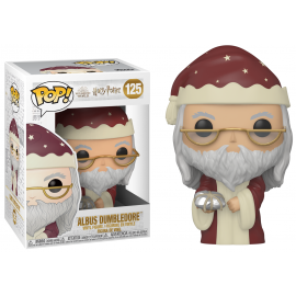 Figurine Harry Potter - Holiday Albus Dumbledore Pop 10cm