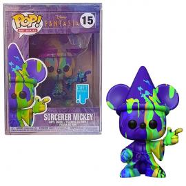 Figurine Disney - Fantasia - Sorcerer Mickey Art Series Pop 10cm