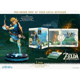 Figurine The Legend of Zelda Breath of the Wild - LINK COLLECTOR'S Edition 25 cm