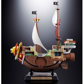 Figurine One Piece - Thousand Sunny Soul of Chogokin 38cm