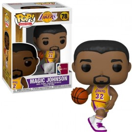Figurine Basketball Legends - Magic Johnson (Lakers Home) Pop 10cm