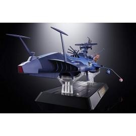 Figurine Albator (Space Pirate Captain Harlock) - Battleship Arcadia Soul of Chogokin GX-93 43cm
