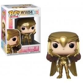 Figurine Dc Comics - WW84 - Wonder Woman Golden Armor Pop 10cm