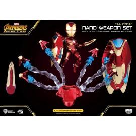 Accessoires Avengers Infinity War - Egg Attack accessoires pour figurine Iron Man Mark 50 Nano Weapon Set