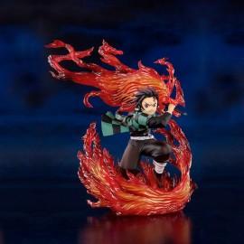 Figurine Demon Slayer - Kamado Tanjiro - Hinokami Kagura Figuarts Zero 15cm