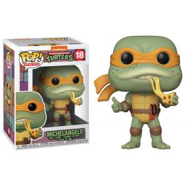 Figurine Teenage Mutant Ninja Turtles (Tortues Ninja) - Michelangelo Pop 10cm