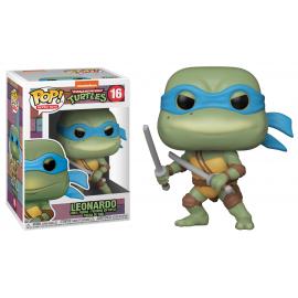 Figurine Teenage Mutant Ninja Turtles (Tortues Ninja) - Leonardo Pop 10cm