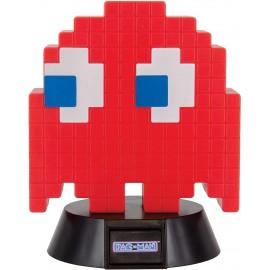 Mini Lampe Pac-Man Fantôme Rouge 10cm