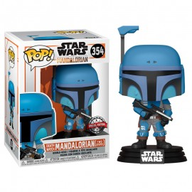 Figurine Star Wars - The Mandalorian - Death Watch Mandalorian Two Stripes Special Edition Pop 10cm