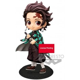 Figurine Q Posket Demon Slayer - Tanjiro Kamado Ver.A 14cm